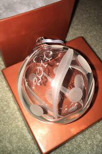 NovaScotian Crystal Ornament from 2011 Surrey, V4N