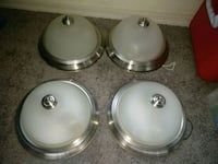 four stainless steel dome lights Tucson, 85706