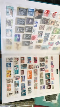 Stamp albums Penrith, 2750