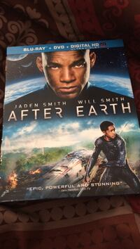 After earth blue-ray+DVD