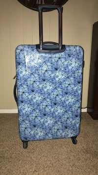 black white and blue travel luggage Lubbock, 79424