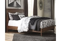 Three piece wood bed! Other bedroom set saves here  Indianapolis, 46240