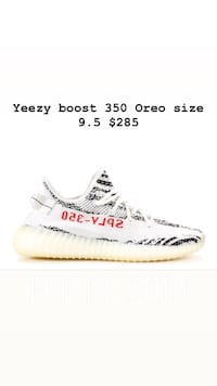 cad878545e643f Used Yeezy Boost 350 V2 zebra. Comes with box and tags on shoes. 100 ...