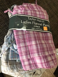 New Flannel pants - PJs - womens 12-14 Vienna, 22180