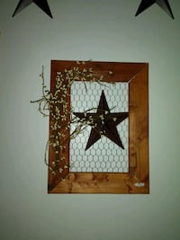 Primitive star decor wall hanging Myerstown, 17067
