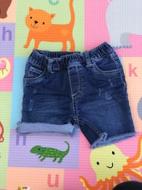 toddler's blue denim shorts Monterey Park, 91755