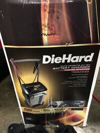 Diehard gold roller charger. New in box Springfield, 97477