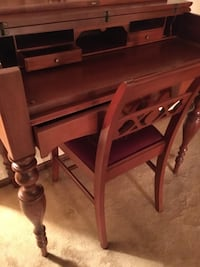 Desk Secretary's flip top with chair