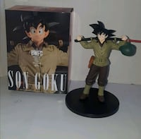 figura goku ropa formal dragon ball