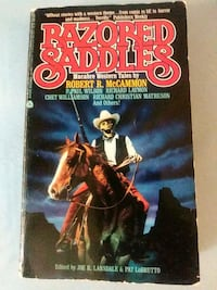 Razored Saddles Macabre Western Tales Baltimore
