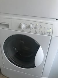 White front-load clothes washer Albuquerque, 87109