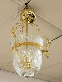 white and gold-colored pendant lamp Martinsburg, 25401