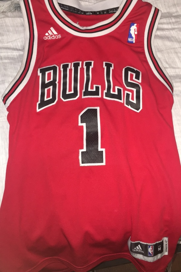 release date: 3b968 1165c Authentic Derrick rose bulls jersey