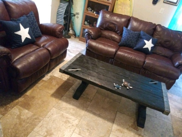 Used LANE LEATHER SOFA AND LOVESEAT FREE DELIVERY! for sale in Tampa ...