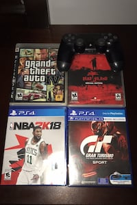 Ps4 controller and ps3 & ps4 games