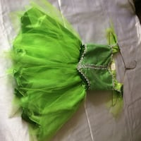 2 pc Green Fairy Princess