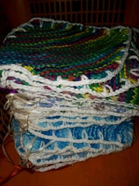 blue, white, and green knitted textile Lower Sackville, B4E 1H7