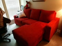 red and black fabric sofa chair Tracy, 95376