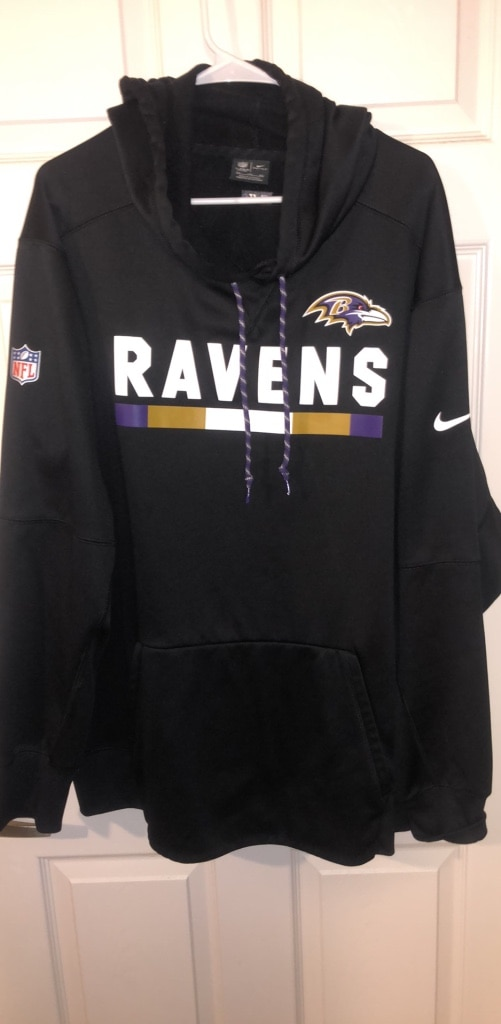 Used NIKE NFL Baltimore Ravens Official