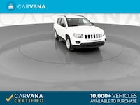 2016 *Jeep* *Compass* Sport SE Sport Utility 4D suv White Brentwood