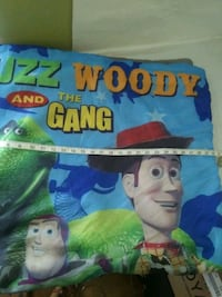 Toy Story Camping Sleeping Bag 30x54.. With Backpa