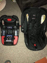 black and red car seat carrier Bellevue, 98004