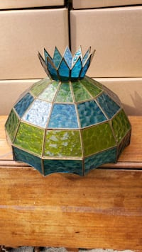 Vintage Lead Glass Lamp Shade Vancouver, V5S 1R5