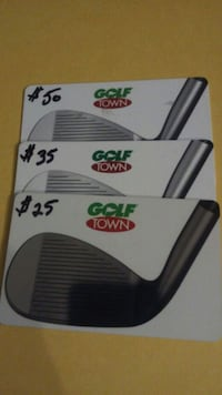 $110 of Golf Town gift cards Edmonton, T6E 1S1