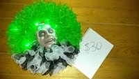 Beetlejuice wreath, handmade