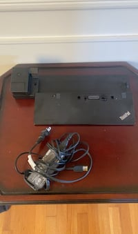 Lenovo Thinkpad Docking Station. Great conduction.