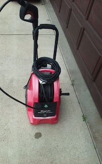 red and black pressure washer Edmonton, T5Z 2T1