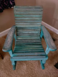 blue and gray wooden armchair Clarksville, 37040