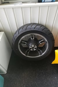 2015 street glide special back rim and tire