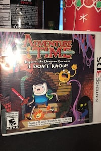 Adventure Time: Explore the Dungeon Because I Don't Know 3DS Nintendo Mississauga, L4Z 2M5