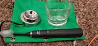 Sonicare diamond clean electronic toothbrush with charging glass set Moore