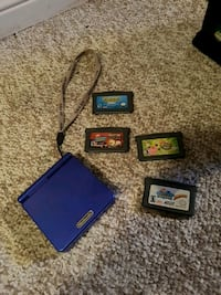 Nintendo Game Boy Advance SP with games Barrie, L4N 0A5