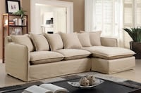 Rosanna Sectional - Relaxing Living Room Decor