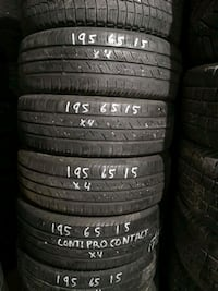 195/65R15 Continental Contiprocontact Airdrie, T4B 2V7