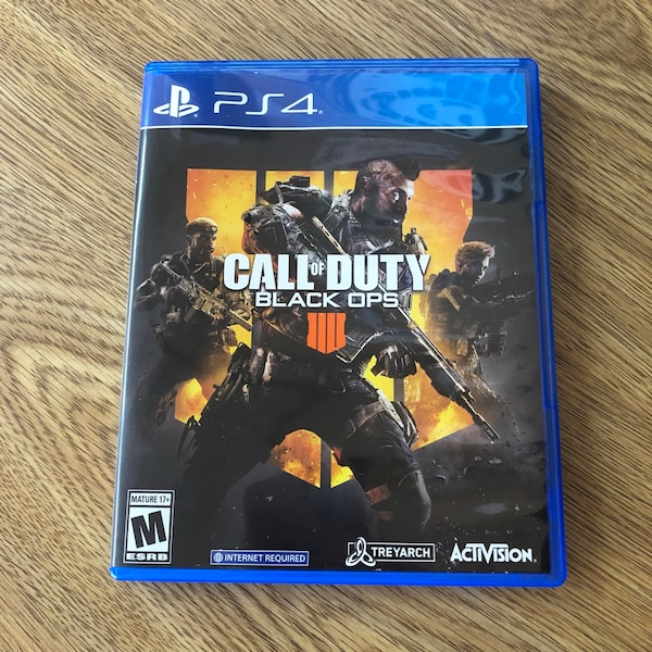 Sold Ps4 Call Of Duty Black Ops 4 Playstation 4 Ps4 Game In Elk Grove Village Letgo
