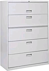 5-DRAWER LATERAL FILE CABINET
