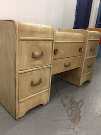 Antique Vanity chest of drawers