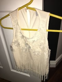 Forever 21 Cream Lace Top Windsor, N8W 5N3