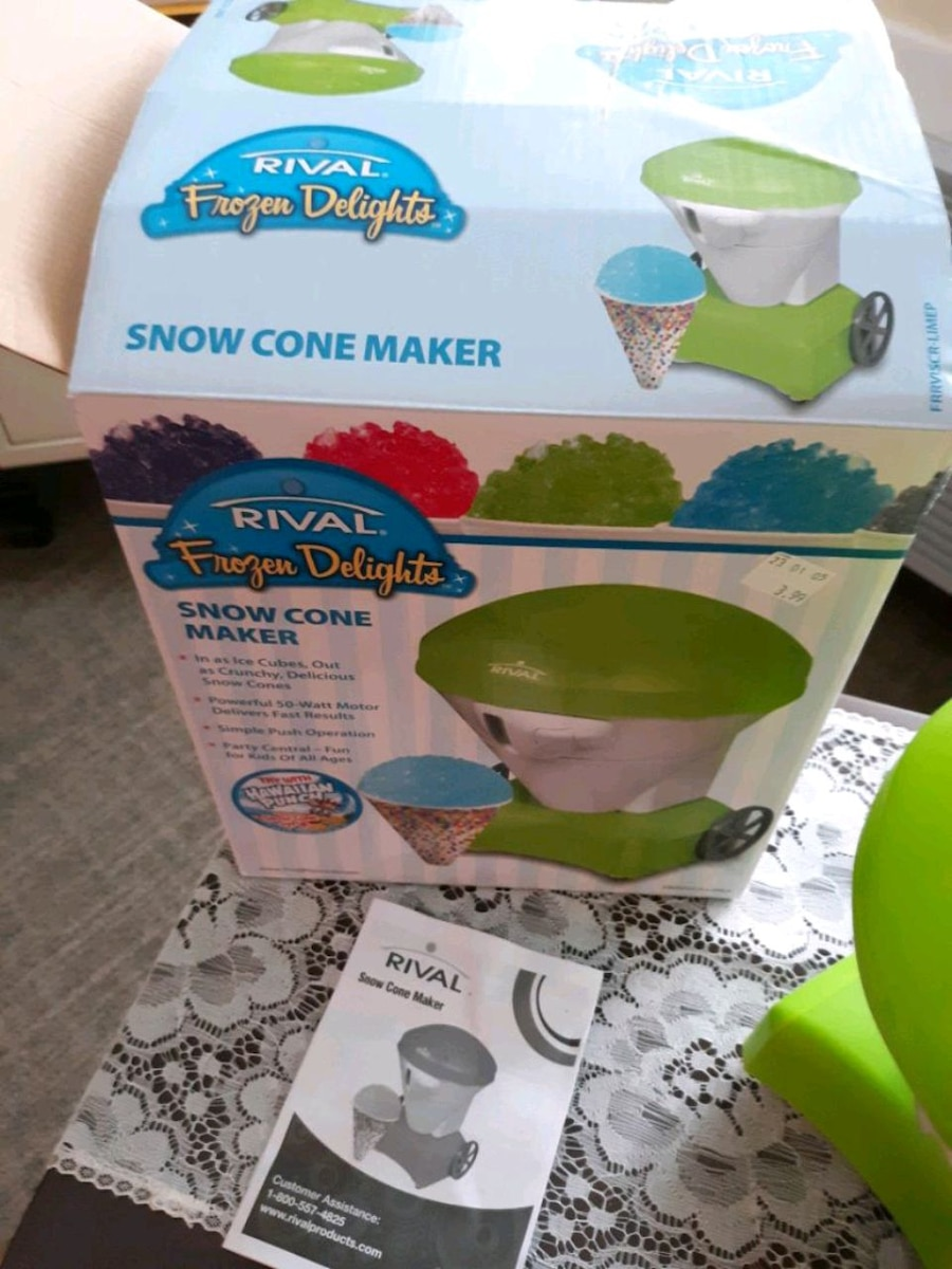 Photo Rival snow cone maker