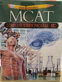Examkrackers MCAT study package 10th edition