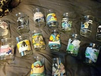 Looney tunes/pooh jelly jars Charles Town, 25414