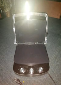 3 in 1 grill, griddle, panini press