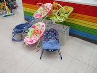 rocking chairs and bouncers for babies Toronto