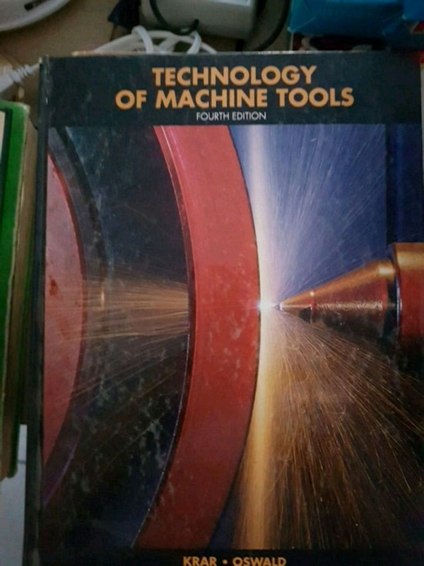 Technology of Machine Tools fourth edition book