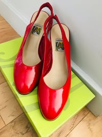 Red Heels that converts to Flats Washington, 20002