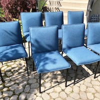 7 Trica Chairs NEVER USED from a Condo Showroom Toronto, M5M 2X3